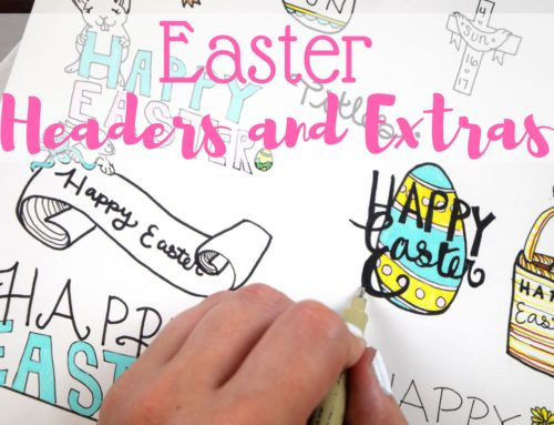 Easter Designs for Bullet Journals