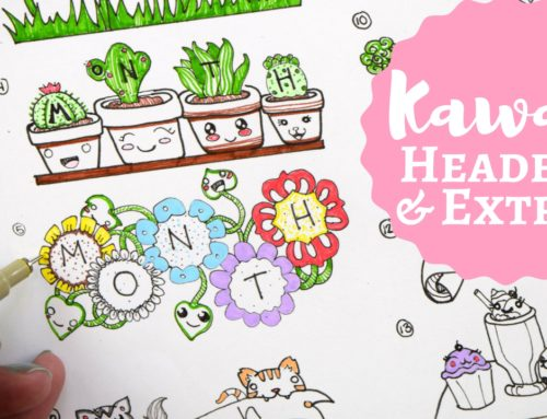 Kawaii Designs for Bullet Journals