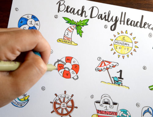 Beach Bullet Journal Ideas