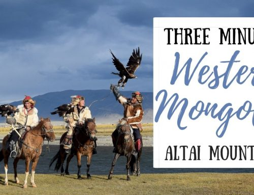 Video: Three Minutes Western Mongolia