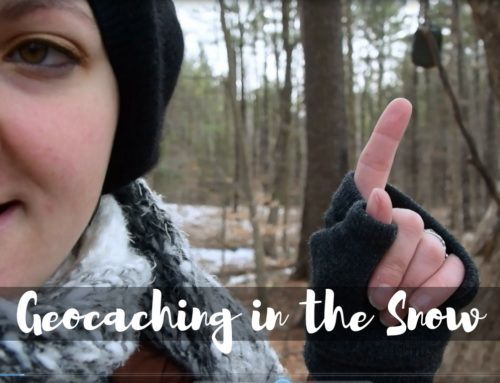 Geocaching in the Snow